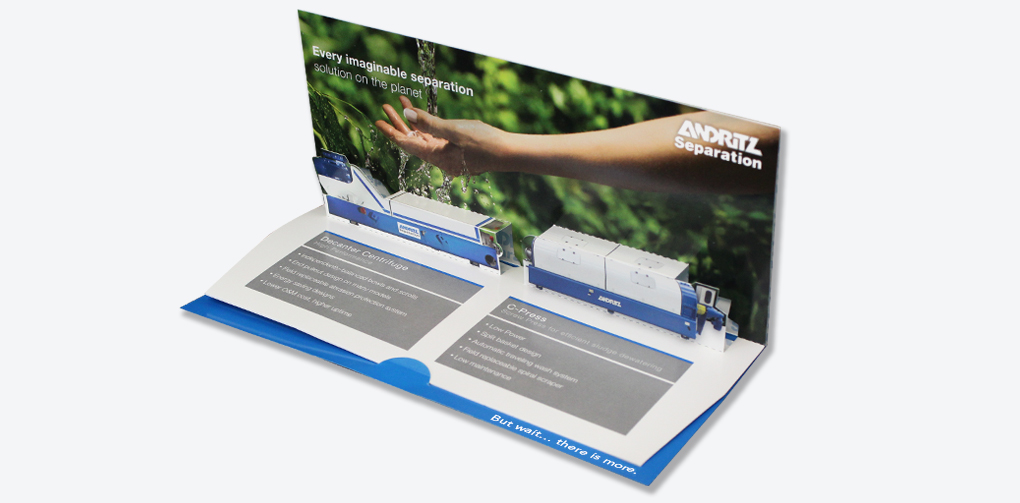 Machinery Industry | Andritz – Tradeshow Handout