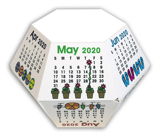 Celebrations 2020 Pop-Up Calendar