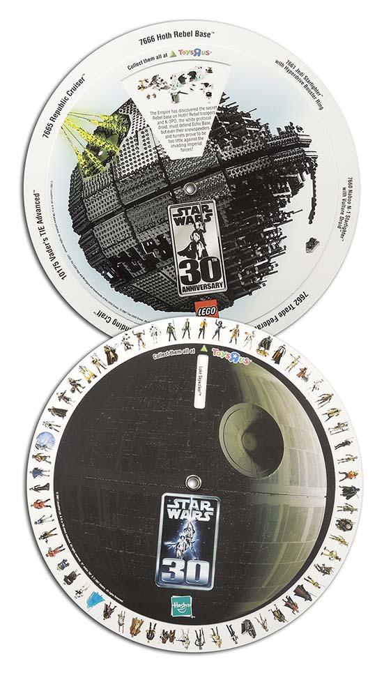 Star Wars Wheel Chart