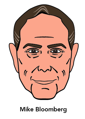 Mike Bloomberg Drawing