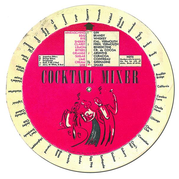 1930's Drink Wheel
