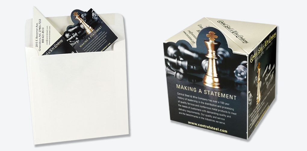 Manufacturing Industry | Central Steel/Wire Promotional Mailer